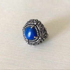 Jewelry - Sterling Silver Blue Lapis Lazuli Handmade Ring